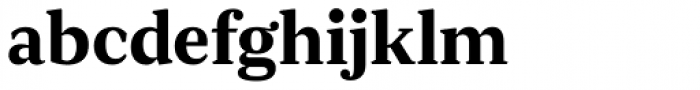 JT Douro Serif Medium Font LOWERCASE