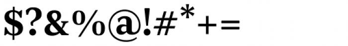 JT Douro Serif Regular Font OTHER CHARS
