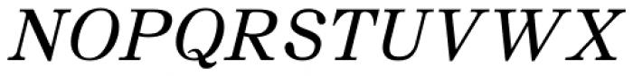 JT Symington Italic Font UPPERCASE