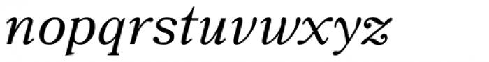 JT Symington Italic Font LOWERCASE