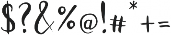 Juanita Brush Smooth Script otf (400) Font OTHER CHARS