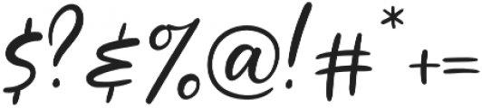Jubilation Regular otf (400) Font OTHER CHARS