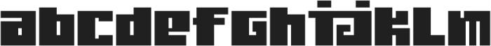 Judera Flat Regular otf (400) Font LOWERCASE