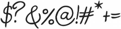 Judyth otf (400) Font OTHER CHARS