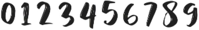 Juicy Steak otf (400) Font OTHER CHARS