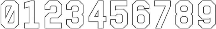 Juju 4-Outline otf (400) Font OTHER CHARS