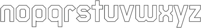 Juju 4-Outline otf (400) Font LOWERCASE