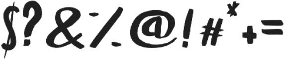 Julia otf (400) Font OTHER CHARS