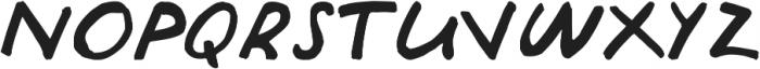Julia otf (400) Font LOWERCASE