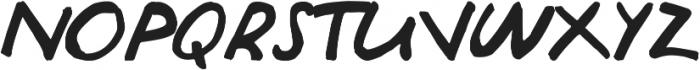 Julia ttf (400) Font UPPERCASE