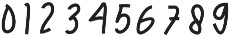 Julian Thomas otf (400) Font OTHER CHARS