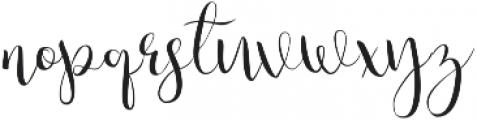Julias Dream otf (400) Font LOWERCASE
