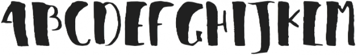 Julie Regular otf (400) Font UPPERCASE