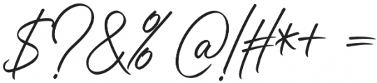 Juliette Script Alt 01 otf (400) Font OTHER CHARS