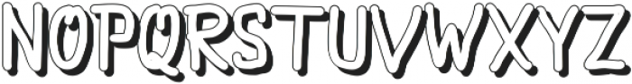 Julykeh Shadow Shadow ttf (400) Font UPPERCASE