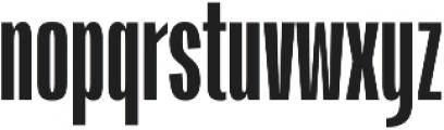 Jumboh SemiBold otf (600) Font LOWERCASE