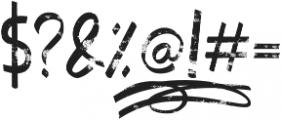 Jumper otf (400) Font OTHER CHARS