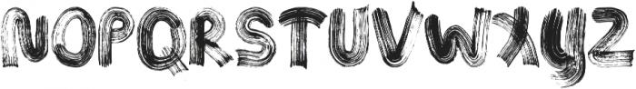 Jungle ttf (400) Font UPPERCASE
