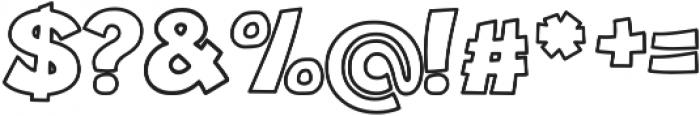 Jungle_line otf (400) Font OTHER CHARS