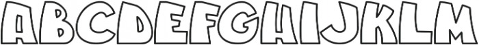 Jungle_line otf (400) Font UPPERCASE