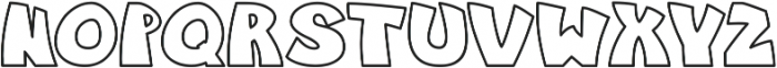 Jungle_line otf (400) Font LOWERCASE