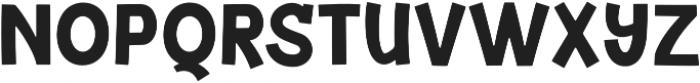 Junior Bold otf (700) Font UPPERCASE