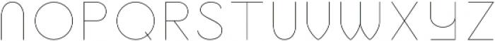 Jupiter Inline otf (400) Font UPPERCASE
