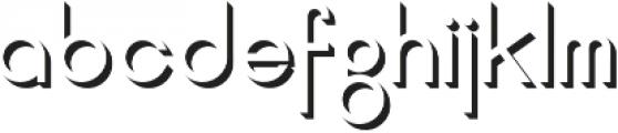 Jupiter Shadow otf (400) Font LOWERCASE