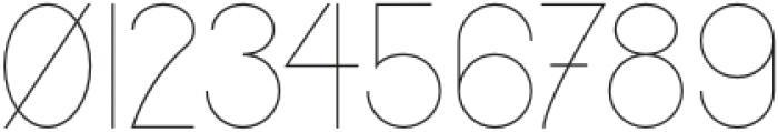 Jupiter Thin otf (100) Font OTHER CHARS