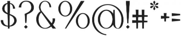 Jurta Sans otf (400) Font OTHER CHARS