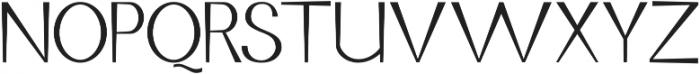 Jurta Sans otf (400) Font UPPERCASE