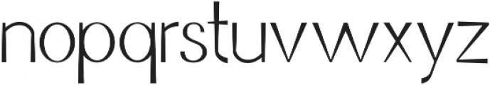 Jurta Sans otf (400) Font LOWERCASE