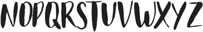Just Believe Caps otf (400) Font UPPERCASE
