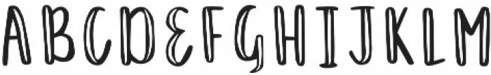 Just Darling Regular otf (400) Font UPPERCASE