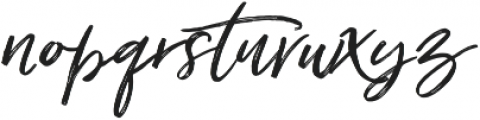 Just Lovely Slanted Wide Alt1 ttf (400) Font LOWERCASE