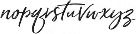 Just Lovely Slanted Wide Alt2 ttf (400) Font LOWERCASE