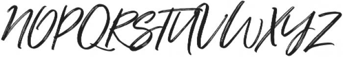 Just Lovely Slanted Wide Alt3 ttf (400) Font UPPERCASE
