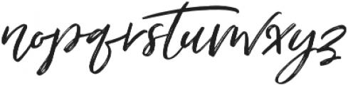 Just Lovely Slanted Wide Alt3 ttf (400) Font LOWERCASE