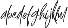 Just Mother alt otf (400) Font LOWERCASE