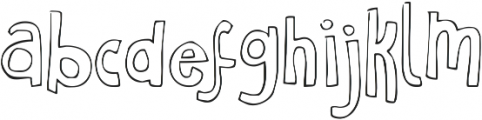 Just Realize ttf (400) Font LOWERCASE