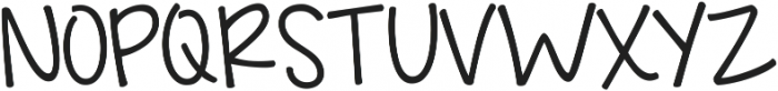 Just Realize ttf (700) Font UPPERCASE