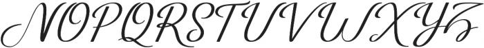 Just Sweet Regular otf (400) Font UPPERCASE