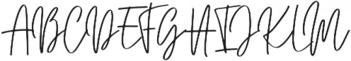 Juster otf (400) Font UPPERCASE