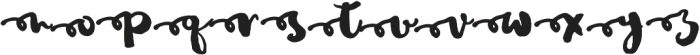 JustinRoadAlt1 otf (400) Font LOWERCASE