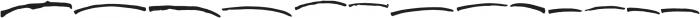 Justloves Underlines Regular otf (400) Font UPPERCASE