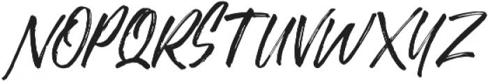 Justlyne Regular otf (400) Font UPPERCASE