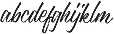 Justlyne Regular otf (400) Font LOWERCASE