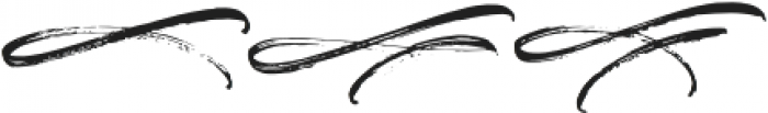 Justlyne Swash Regular otf (400) Font LOWERCASE