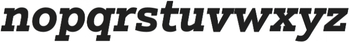Justus Pro Bold Italic otf (700) Font LOWERCASE