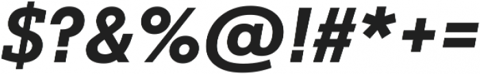 Justus Pro Bold Italic ttf (700) Font OTHER CHARS